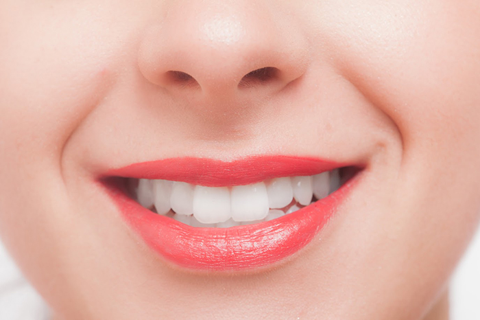綺麗な前歯